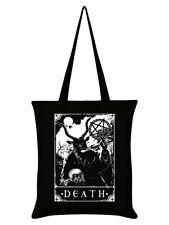 Deadly Tarot Tote Bag Death Black 38x42cm