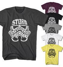 Herren T-Shirt Stormtrooper Star Helm Vintage Darth Wars Film Movie neu ST22216