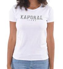 Tee shirt kaporal manches courtes VISA white