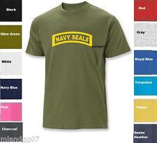NAVY SEALS Military T-Shirt Shirt US Army  SZ S-5XL