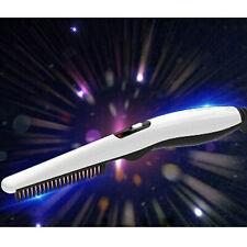 Beard Straightener Comb Electric Quick Heated Brush Styler For Men Travel Hairs