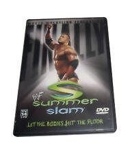 WWF - Summerslam 2001 (DVD, 2001) WWE