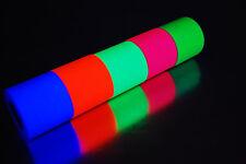 2 Inch UV Blacklight Reactive Fluorescent Gaffer Tape 1 Roll x 6 YDS