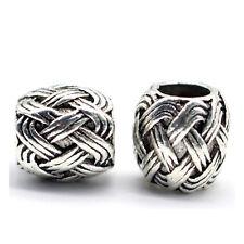 5 PCS/Pack Metal Viking Runes Beads For Beards Hair Jewelry Making DIY Pendants