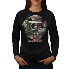 Nintendo Retro Game Women Sweatshirt NEW   Wellcoda