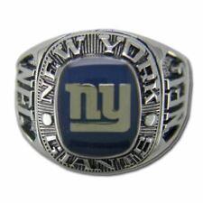 New York Giants Classic Silvertone Ring