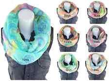 LOOP Rundschal CIRCLE XXL Optik Schal Tuch IT Flower SCARF Kreise NEU H/M-205