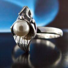Swarovski Elements®  Perle Silber 925 Ring verschiedene Größen R131