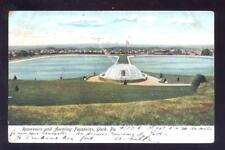 Usa Pa York Aerating Fountains 1906 u/b Ppc