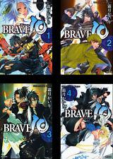 BRAVE 10 KAIRI KIRITSUKI JAPANESE ANIME MANGA BOOK SET VOL.1-4