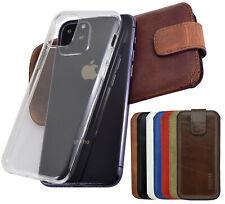 Hülle für das iPhone 11 | Pro | Max Echt Leder Handy Tasche Schutz Cover Suncase