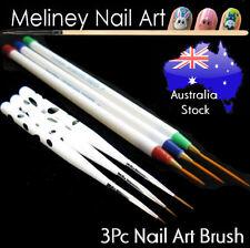3Pcs Nail Art Brush Set Detail Drawing Liner Artist Painting Pen Tool
