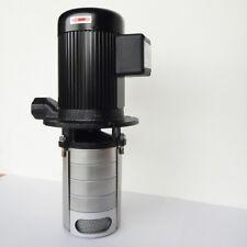 "Multistage CNC Machine Tool Coolant Pump, 1HP 220~480V, 4 stages 199mm 8"" stem"