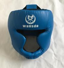 MMA Boxing Helmet Sparring Headgear Training Muay Thai Head Guard Protector