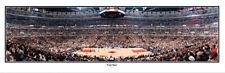 NBA Chicago Bulls United Center 1997 Finals Foul Shot Panoramic Poster 3003