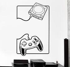 Wall Sticker Gaming Gamepad Console Joystick Joypad Vinyl Decal (z3095)