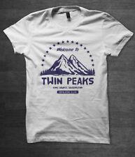 TWIN Peaks Da Uomo T-Shirt David Lynch Serie TV