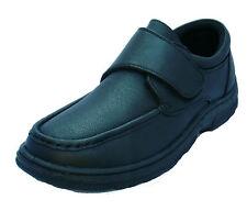 Mens Gel Pad Insole Black Brown Formal School Office Work Wedding Shoes UK 6-12