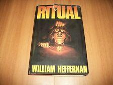 WILLIAM HEFFERNAN:RITUAL!CLUB DEGLI EDITORI-1990 GIALLO CULTURE PRECOLOMBIANE!OK