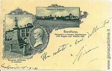 CARTOLINA d'Epoca: REGGIO EMILIA - SCANDIANO: 1899