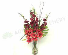 FA1022 - Pink Ochids & Lilies Floral Arrangement