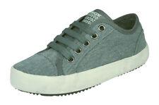 Boys Geox Sneakers J Alonisso B Canvas Kids Shoes Grey - Worldwide Shipping