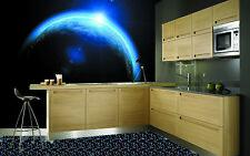 3D Blue Light Earth 99 Wall Paper Murals Wall Print Wall Wallpaper Mural AU Kyra