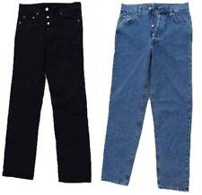 Vaqueros Pantalones de las Señoras Pantalones Vaqueros Azul Negro