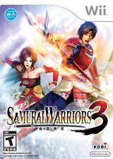 Samurai Warriors 3 Nintendo Wii NEW SEALED