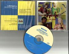 Erasure remake cover WHEATUS A Little Respect PROMO Radio DJ CD Single 2001
