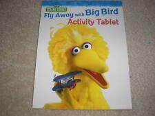 New Sesame Street Big Bird Activity Tablet Coloring