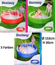 Bestway 152cm Kinder Pool Planschbecken Schwimmbecken Badespaß Kinderpool NEU...