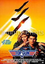 Top Gun Movie Film Poster A2 A3 A4