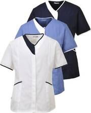 PORTWEST LW13 hospital blue,navy or white modern healthcare tunic S-XXL