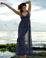 "ROSA FAIA ""Henny"" BEACH DRESS/COVER UP in Purple/Green LAST FEW"