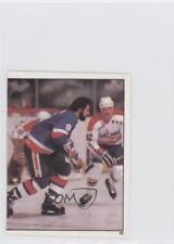 1982-83 Topps Album Stickers #55 Clark Gillies New York Islanders Hockey Card