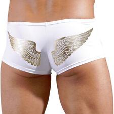 Herren Zip Pants Hipster S M L XL Slip Shorts Unterhose weiß gold Svenjoyment