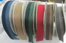 Bordo tessuto 100%Viscosa Blu-verde-rosso-marrone-grigio Made in Germany