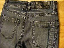 Billabong Dedbolt Mid Rise Dark Capri Skinny Fit Jeans Junior Size 27 - CL0249