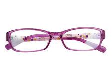 Kids Children Comfortable Cartoon Candy Colour Cute Glasses Frame Eyewear Clear