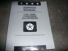1999 Chrysler LHS 300M Concorde Intrepid Shop Service Shop Repair Manual OEM