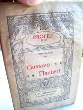 1920 FORMIGGINI GUSTAVO FLAUBERT DI GUIDO MUONI