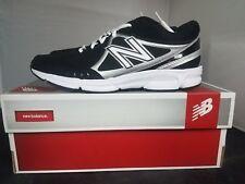 New Balance T500BK Mens Baseball Shoes Black/White/Grey - New in Box