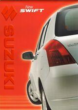 SUZUKI Swift 2005-06 UK Opuscolo Vendite sul mercato GL GLX 1.3 1.5 DDiS