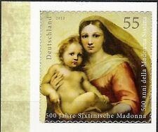 2012 Raffaello: la Madonna Sistina - Germania - francobollo autoadesivo