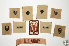 lot de 10  Patchs US air force desert   ( 93 )