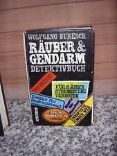 Räuber & Gendarm, ein Detektivbuch von Wolfgang Buresch