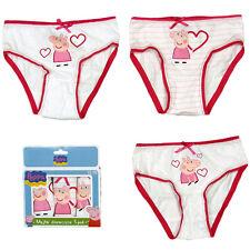 sous-vêtements fille Slip culotte Peppa Pig 3 pièces 92-98 104-110 116-122 #77