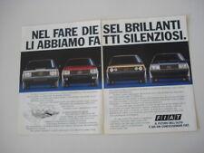 advertising Pubblicità 1984 FIAT UNO - RITMO