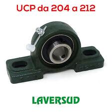 Supporti UCP Autoallineanti con Cuscinetto da 204 a 212